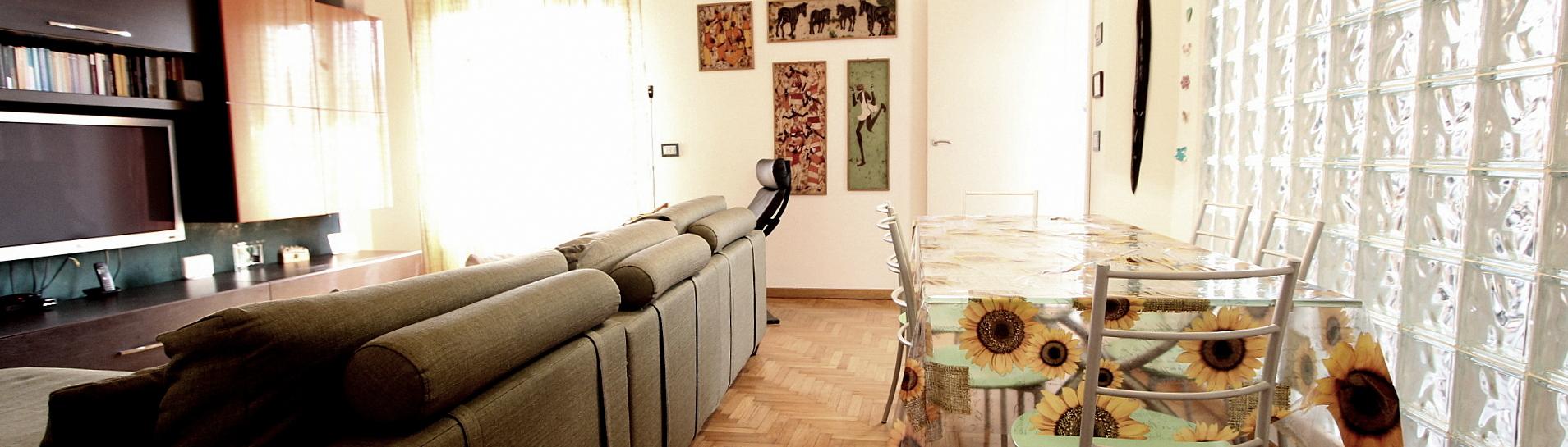 Ampio appartamento ultimo piano in piccola palazzina
